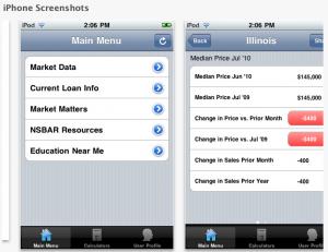 Northshore Barrington Association of REALTORS iphone app