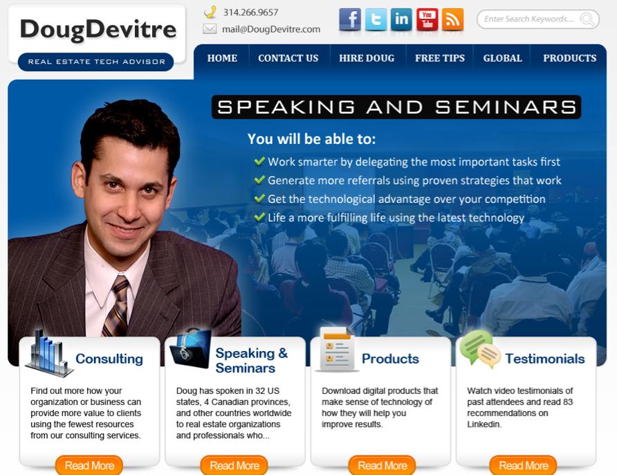 Doug Devitre new website